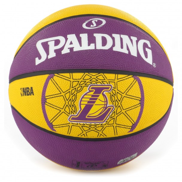 Basketball Spalding, 83-156Z L.A. LAKERS, size 7