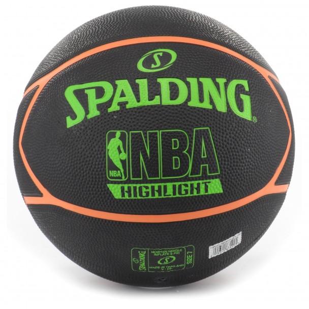 Баскетболна топка Spalding, 83-199Z NBA NEON HIGHLITE, размер 7