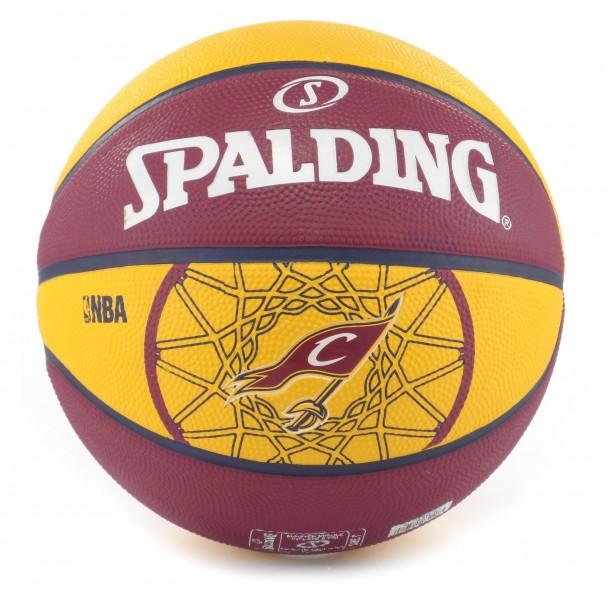 Баскетболна топка Spalding, 83-218Z CLEVELAND CAVALIERS, размер 7