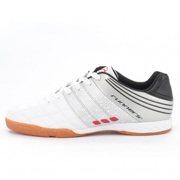 Мъжки футболни обувки Runners, RNS-151-9182, бял