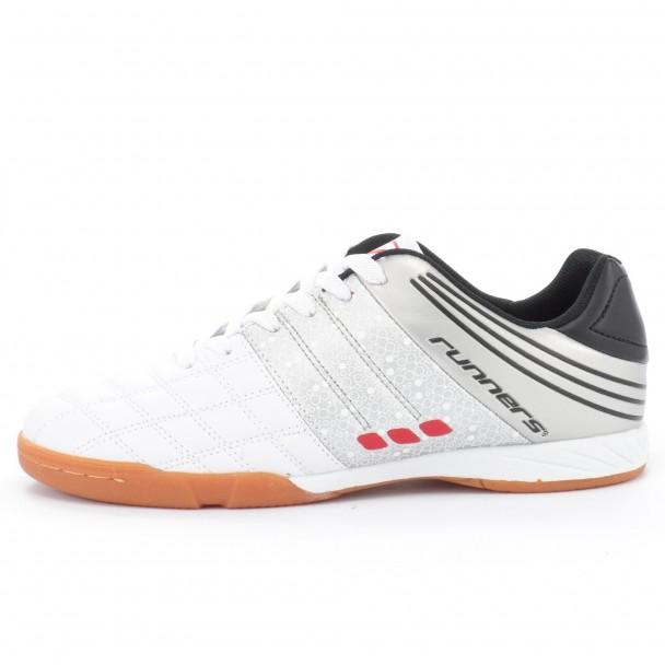 Юношески футболни обувки Runners, RNS-151-9182, бял