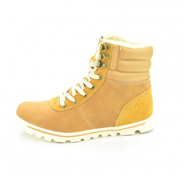 Woman boots Runners, RNS-162-809, brown