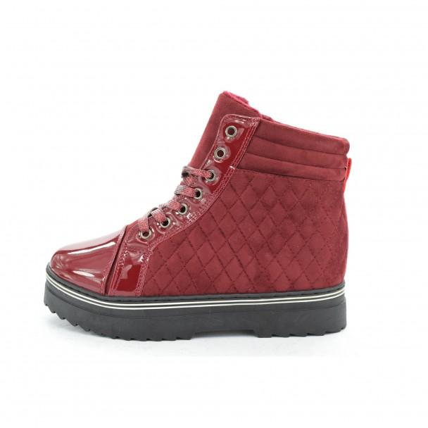 Woman boots Iniq, TA-5, red