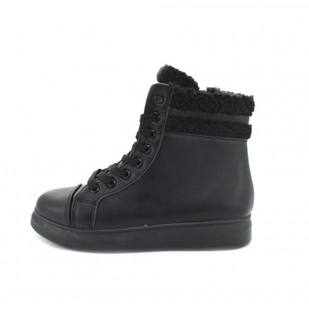 Woman boots Iniq, TA-12, black