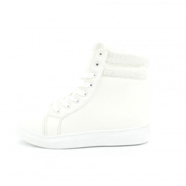 Woman boots Iniq, TA-12, white