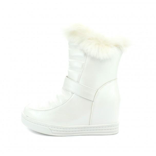 Woman boots Iniq, TA-13, white