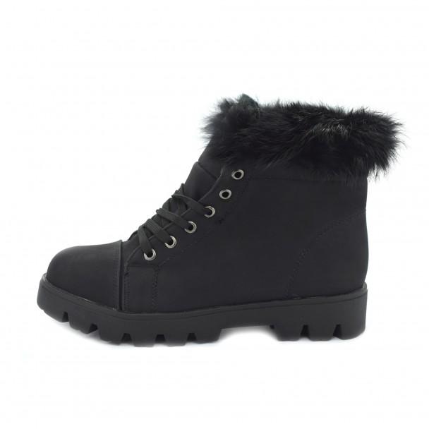 Woman boots Iniq, TA-14, black
