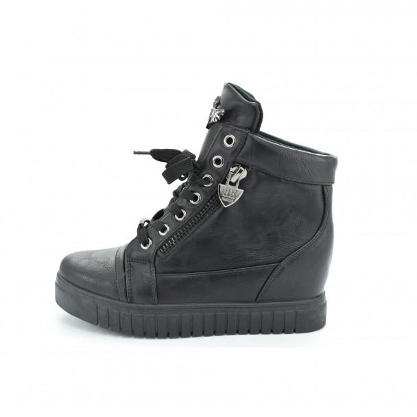 Woman boots Iniq, VM9738, black