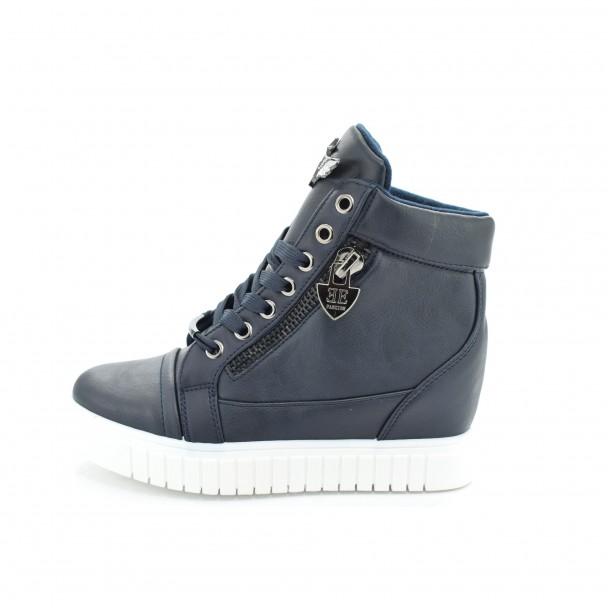 Woman boots Iniq, VM9738, blue