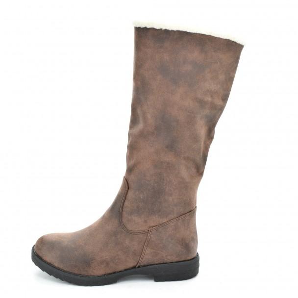 Woman boots Iniq, 9950-5, brown