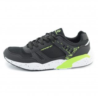 Men running shoes Runners, RNS-171-16166, black