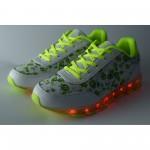 Дамски светещи маратонки Runners, RNS-171-16187, неон