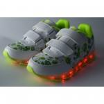 Детски светещи маратонки Runners, RNS-171-16187, неон
