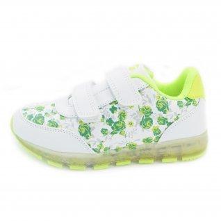 Kids running shoes Runners, RNS-171-16187, neon