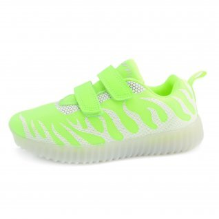 Kids running shoes Runners, RNS-171-83122, neon