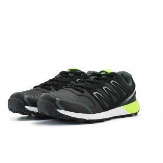 Men running shoes Runners, RNS-172-16118, grey