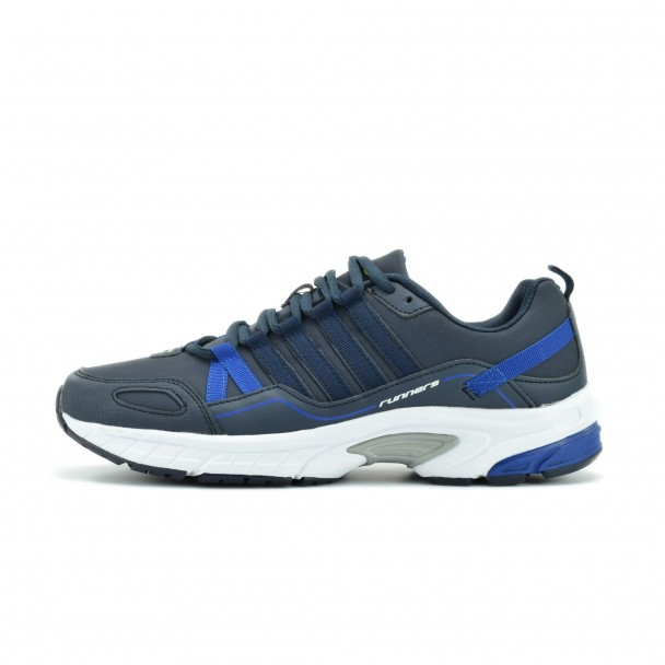 Men running shoes Runners, RNS-172-16323, blue