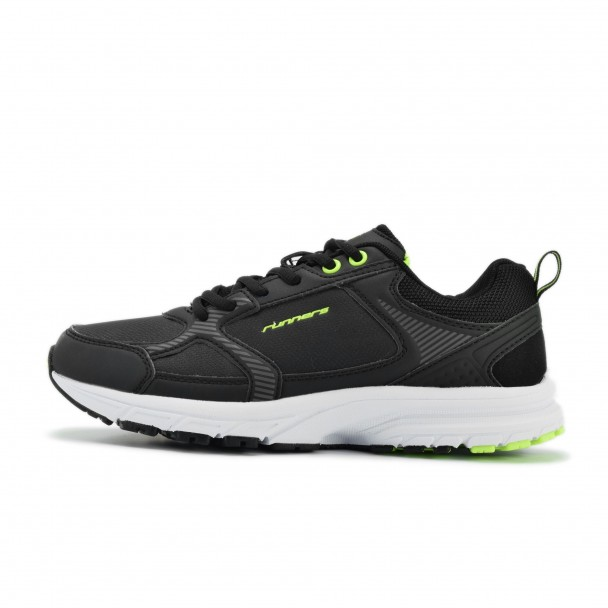 Junior running shoes Runners, RNS-172-16324, black