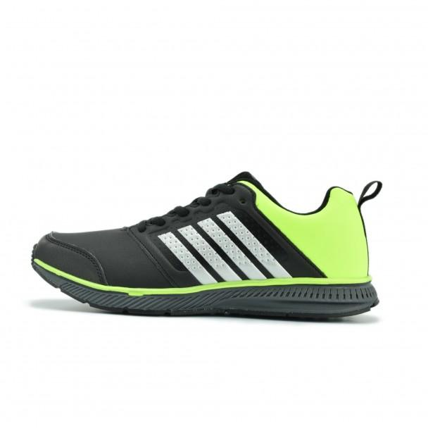 Юношески маратонки Runners, RNS-172-15140, черен/зелен