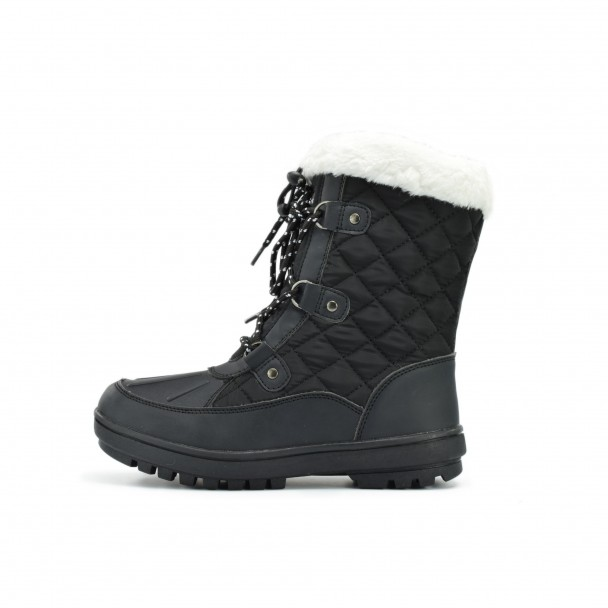 Woman snow boots Runners, HSL 16721, black