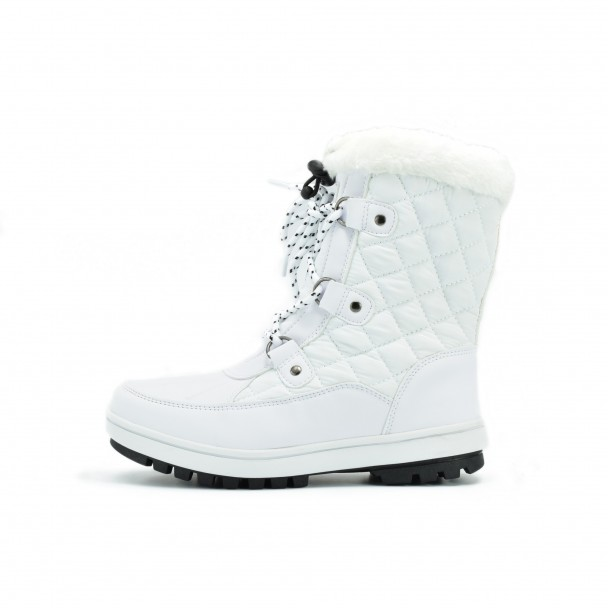 Woman snow boots Runners, HSL 16721, white