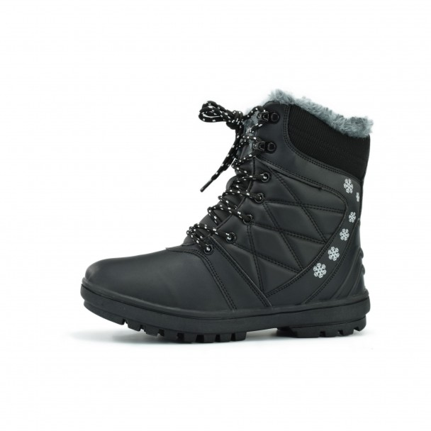Woman snow boots Runners, HSL 16722, black