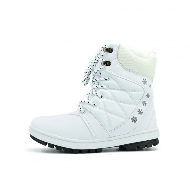 Woman snow boots Runners, HSL 16722, white