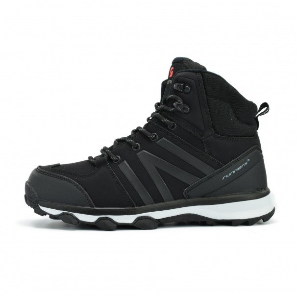 Men boots Runners, HSM 17033, black