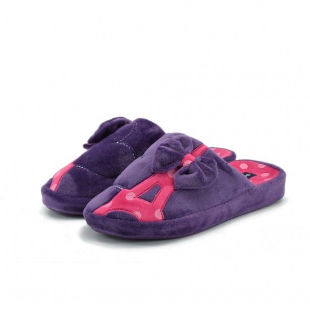 Дамски пантофи Runners, AW-1601711-1, лилав