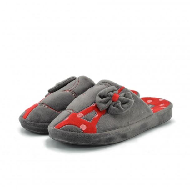 Дамски пантофи Runners, AW-1601711-2, сив