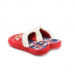 Woman home slippers Runners, AW-130216, red