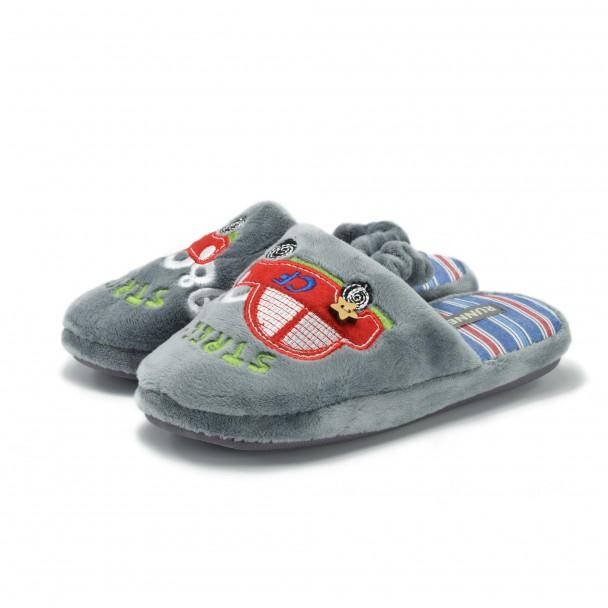 Детски пантофи Runners, SC-1601173, сив