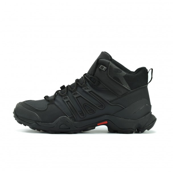 Men running shoes Runners, 532-076, black