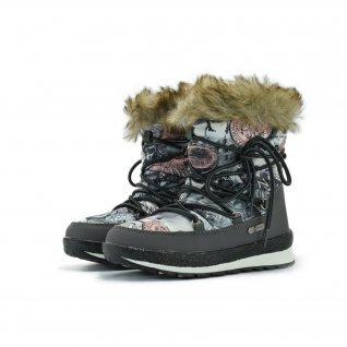 Kids snow boots Runners, RNS-172-C1924, grey