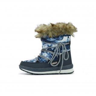 Kids snow boots Runners, RNS-172-C1924, navy