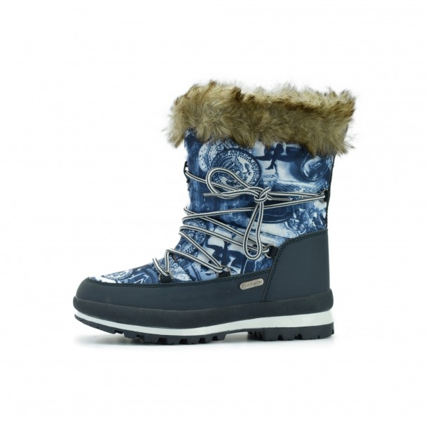 Woman snow boots Runners, RNS-172-1924, navy