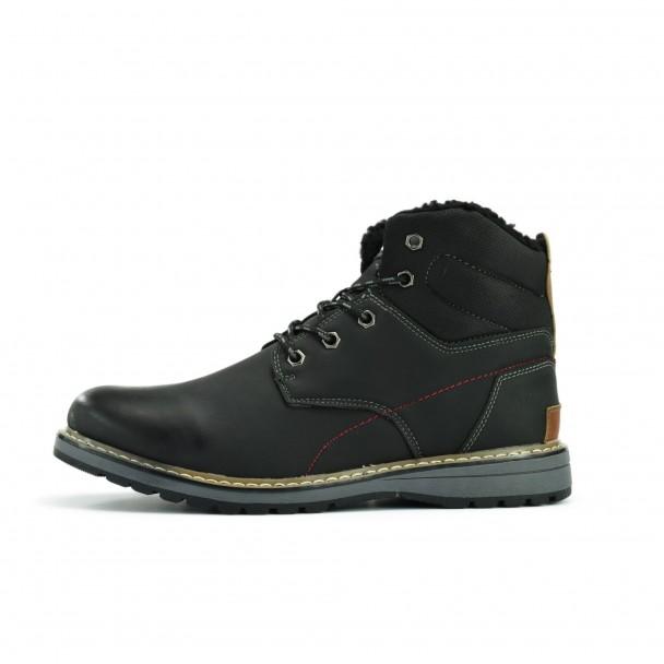 Men boots Runners, 1610099, black