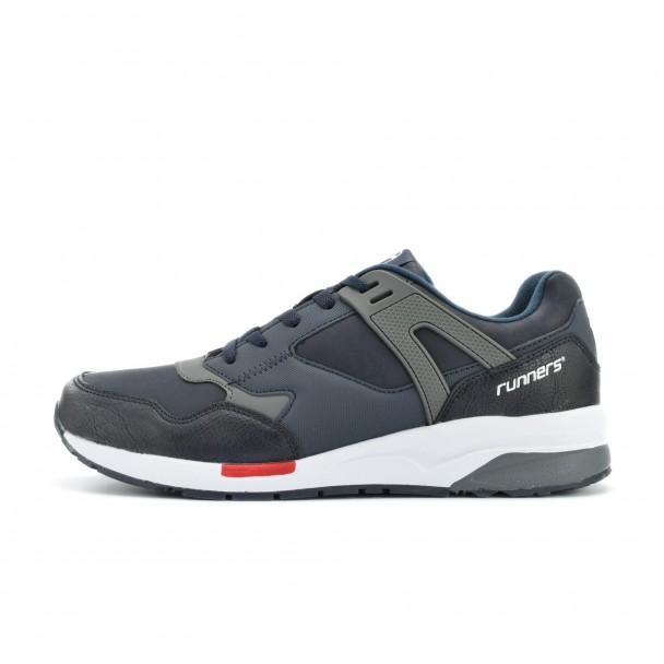Men running shoes Runners, RNS-172-16334, blue