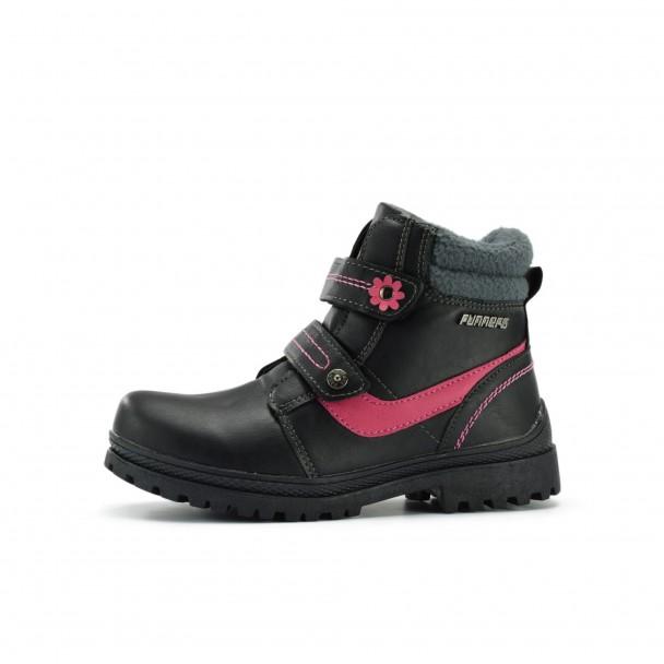 Kids boots Runners, RNS-172-6295, black