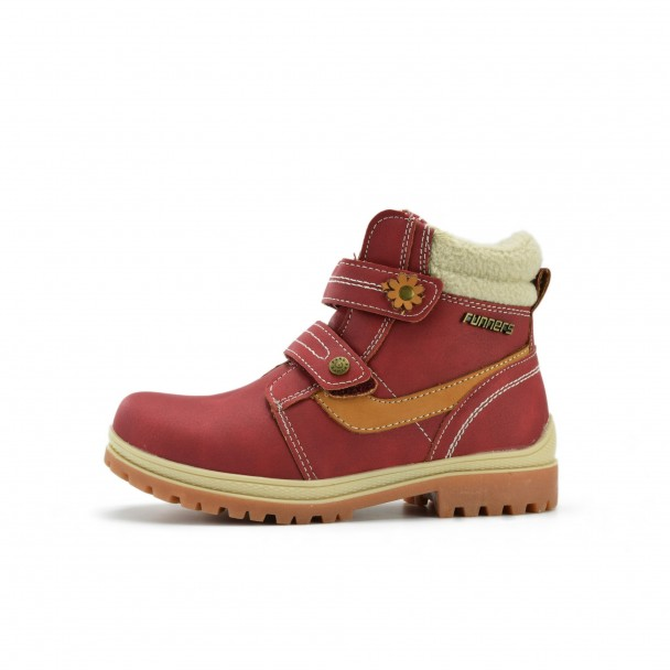 Kids boots Runners, RNS-172-6295, red