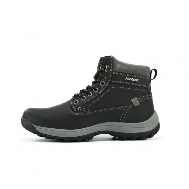 Men boots Runners, RNS-172-6146, black