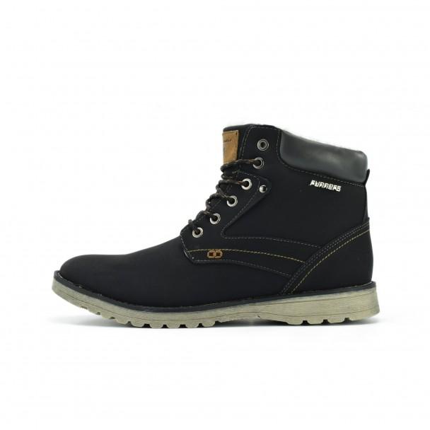 Men boots Runners, RNS-172-6869, black