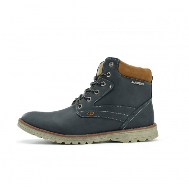 Men boots Runners, RNS-172-6869, navy