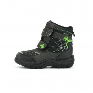 Kids snow boots Runners, RNS-172-2523, black/green