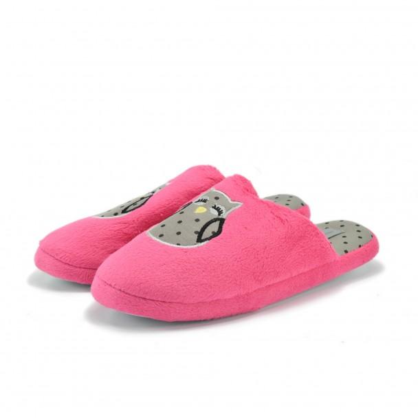 Woman home slippers Runners, RNS-172-126-3, fuchsia