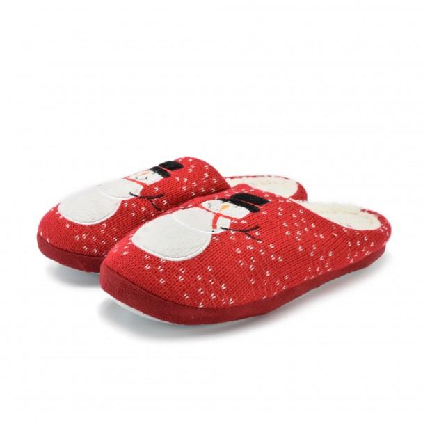 Дамски пантофи Runners, RNS-172-1032, червен