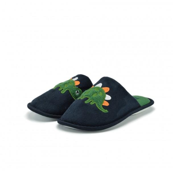 Kids home slippers Runners, RNS-172-1154-1, blue