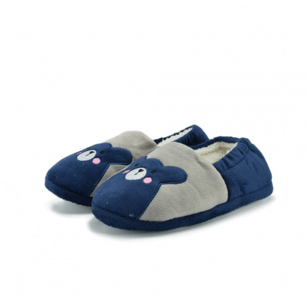 Kids home slippers Runners, RNS-172-16382-2, blue