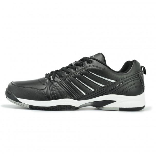 Men running shoes Runners, RNS-172-7007-L, black