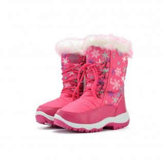 Kids snow boots Runners, RNS-172-66020, fuxia